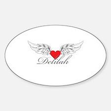 Angel Wings Delilah Decal