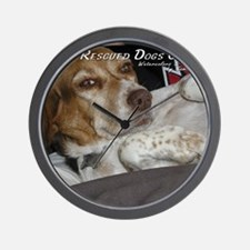 loveable rescue Wall Clock