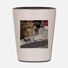 loveable rescue Shot Glass
