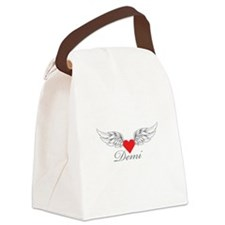 Angel Wings Demi Canvas Lunch Bag