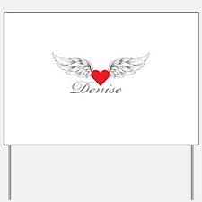 Angel Wings Denise Yard Sign