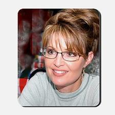 Sarah Palin in Kuwait tshirt Mousepad