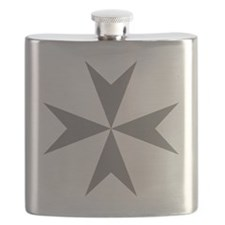 Cross of Malta - Grey Flask
