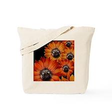 flower_pug+8x10 Tote Bag