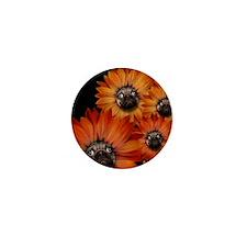 flower_pug+8x10 Mini Button