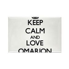 Keep Calm and Love Omarion Magnets