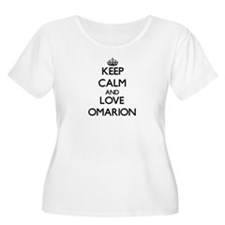 Keep Calm and Love Omarion Plus Size T-Shirt