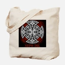 red sheild shirt Tote Bag