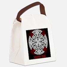 red sheild shirt Canvas Lunch Bag