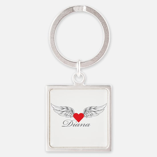 Angel Wings Diana Keychains