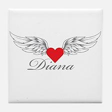 Angel Wings Diana Tile Coaster
