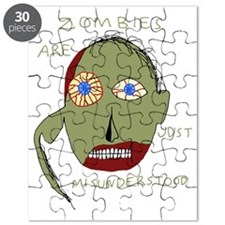Zombie Colored Puzzle
