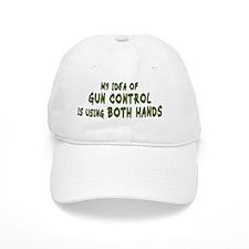 gun-control-mug Baseball Cap