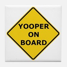 2000px-Yooper_On_Board_Sign.gif Tile Coaster