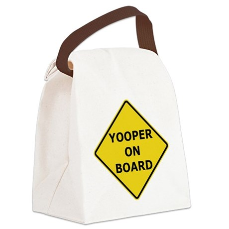 2000px-Yooper_On_Board_Sign.gif Canvas Lunch Bag