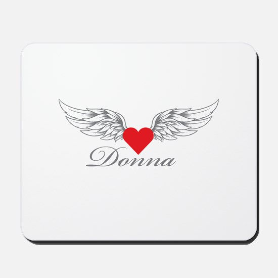 Angel Wings Donna Mousepad