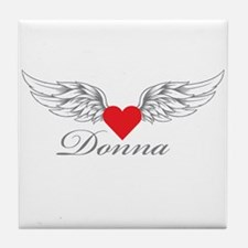 Angel Wings Donna Tile Coaster