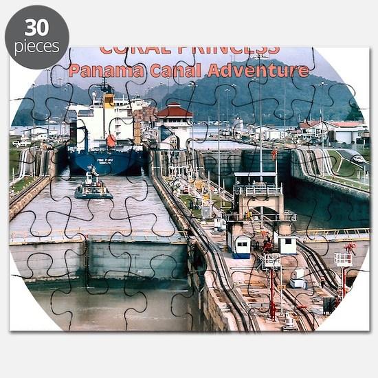 Coral Princess - 2011 Panama Canal Adventur Puzzle