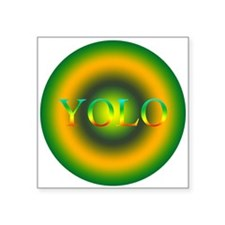 you only live once YOLO Sticker