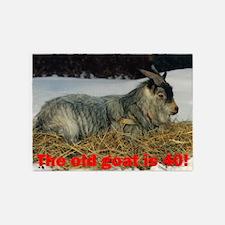 goat40 5'x7'Area Rug