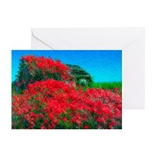 Rose Cabin Greeting Cards, Pk 20