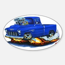 1955 Chevy Pickup Blue Truck Decal