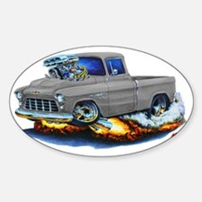1955 Chevy Pickup Grey Truck Decal