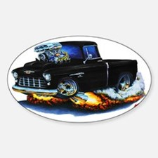 1955 Chevy Pickup Black Truck Decal
