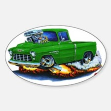 1955 Chevy Pickup Green Truck Decal