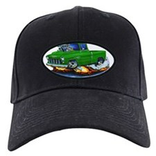 1955 Chevy Pickup Green Truck Baseball Hat