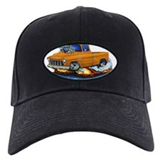 1955 Chevy Pickup Orange Truck Baseball Hat