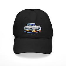 1955 Chevy Pickup White Truck Baseball Hat