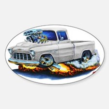 1955 Chevy Pickup White Truck Decal