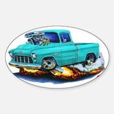 1955 Chevy Pickup Turquoise Truck Decal