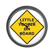 2000px-Little_Yooper_On_Board_Sign.gif Wall Clock
