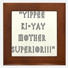 mothersuperior Framed Tile