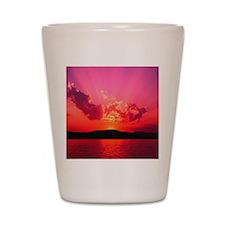 Sunset Shot Glass