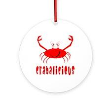 Crabalicious Ornament (Round)