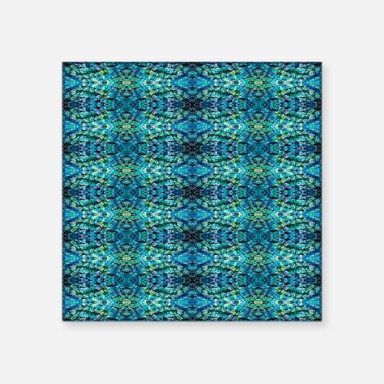 """Bluzure 3 Square Sticker 3"""" x 3"""""""