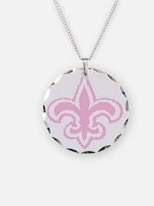 fleur pink Necklace