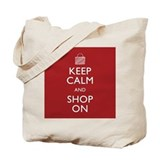 Keep calm Canvas Totes