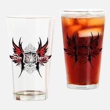 RedonWhite-CAFEPRESS Drinking Glass