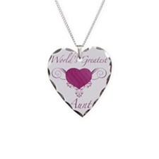 Heart_Aunt Necklace Heart Charm