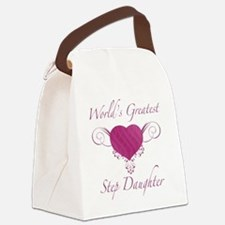 Heart_StepDaughter Canvas Lunch Bag