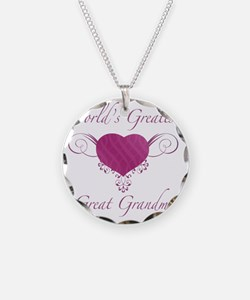 Heart_GreatGrandma Necklace