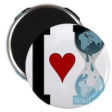 i heart wikileaks Magnet