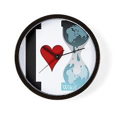 i heart wikileaks Wall Clock