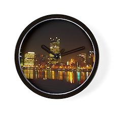 2010PghLightUp409_LG Wall Clock