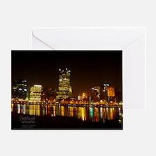 2010PghLightUp409_LG Greeting Card