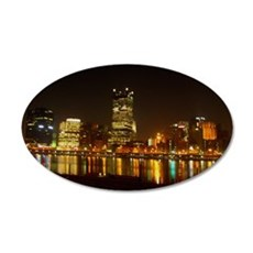 2010PghLightUp409_MED 35x21 Oval Wall Decal